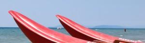 Scopri la spiaggia di Cervia dall'Hotel Athena, vicino al mare